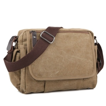 Canvas Vintage Men's School Satchel Messenger Crossbody Bags