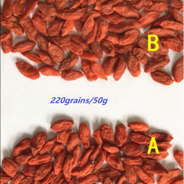 Contain B-complex vitamins of QW goji berry