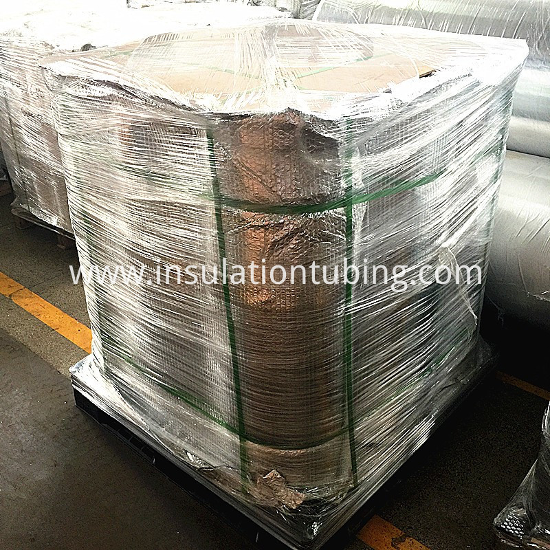 Insulation Fire Resistant Aluminum Foil Glass Fiber Cloth
