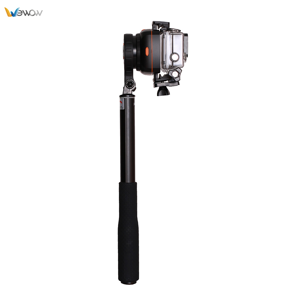 Original wearable gimbal for action camera