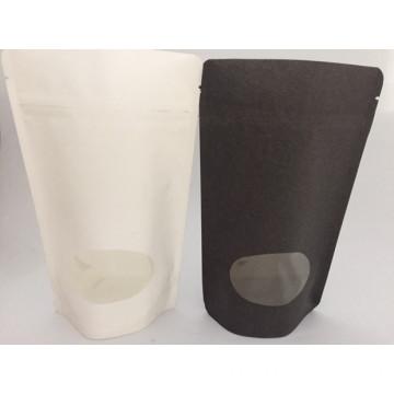 Stock Bags Customized Size Stand Up Coffee Pouch