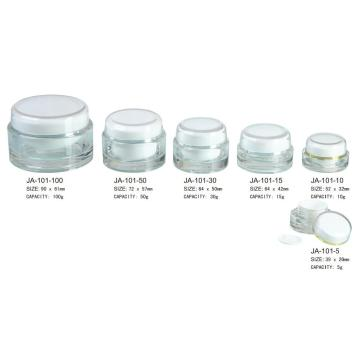 Customized for China Acrylic Jar, Acrylic Cosmetic Jar, Acrylic Makeup Jar Manufacturers. Small Clear Acrylic Plastic Jars With lids Wholesale supply to Congo, The Democratic Republic Of The Manufacturer