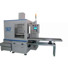 Double side surface grinding machine for piston rings
