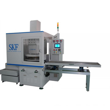 High precision double disk surface honing machine