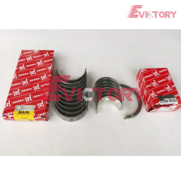 ISUZU engine 4JG1 bearing crankshaft con rod conrod