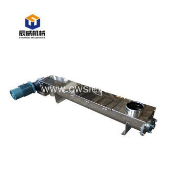 carbon steel fertilizer screw auger conveyor