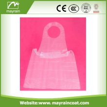 Certificated Disposable PE Kids Plastic Smock