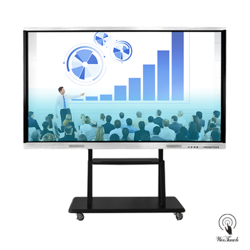 98 Inches Interactive Panel With Mobile Stand