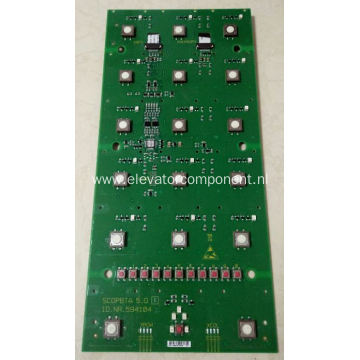 COP Button Board for Schindler 9300 Elevators 594104