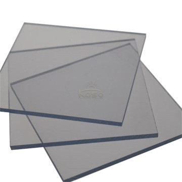 Polycarbonate Pc Panel Fire Proof Solid Flat Sheet