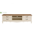 Four Drawers Solid Wood TV Stand