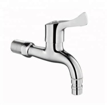 China Top 10 for Plastic Water Faucet Wall Mounted Chrome-Plated Brass Single Handle Bibcock export to Dominica Importers