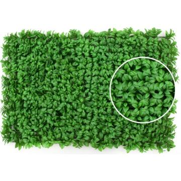 PE Anti--UV Artificial Vertical Garden Plant Decoration Wall