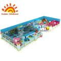 Bule Indoor Playground Equipment For Children