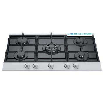 Built In 5 Burners Hot Selling Gas Hob