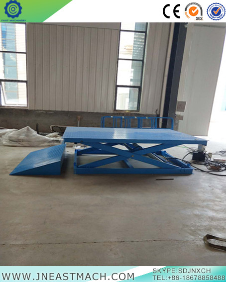 Stationary Propelled Hydraulic Scissor Hoistable Lifting Platform