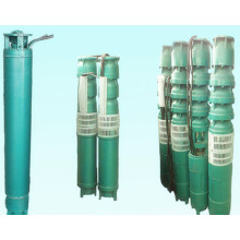 Leaf wheeled submersible pump