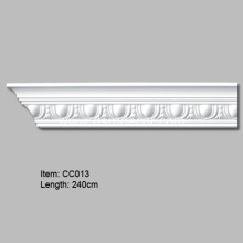 Polyurethane Crown Molding with Egg Design