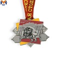 Metal lion sport courage medal