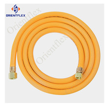 commercial pvc braided flue vent natural gas hose