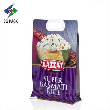 Plastic Rice Packaging Bag With Handle