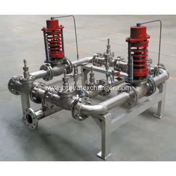 Cryogenic Gas Pressure Control Manifolds