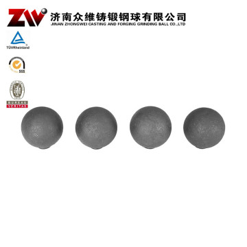 Forged mill balls B2 steel 25mm for aac plants