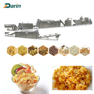 Extruded Breakfast Cereal Flakes Equipment