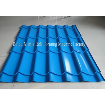 Glazed Corrugated Metal Roof Roll Forming Machine