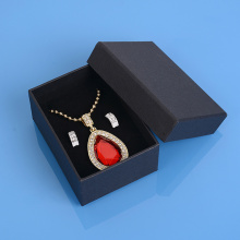 Custom Black Necklace Gift Box