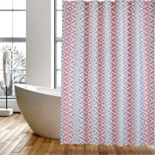 Shower Curtain PEVA Red Coral