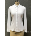 Women's woven long shirt