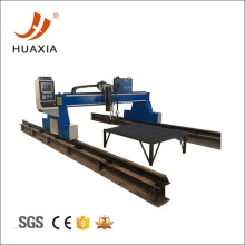 Metal cutting with gantry plasma cutting machine