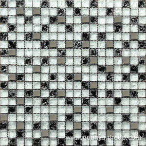 Glass Cracked Mosaic Tile