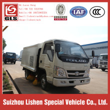 Diesel Engine Euro 3 Road Cleaning Sweep Truck