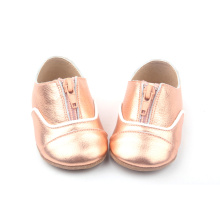 High Style Innovative Multiple Color Leather Baby Shoes