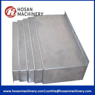Stable machine way protection sliding steel plate covers