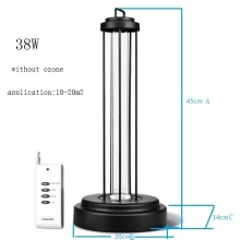 UVC Portable Disinfection Lamp With Ozone UV lamps ultraviolet germicidal lamp
