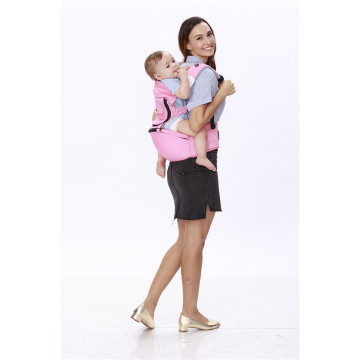 Comfortable 6-in-1 Cotton Baby Carrier Backpacks