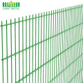 PVC Coated Welded Double Horizontal Wire Mesh Fence