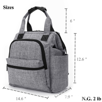 Simple Fashion Big Capacity Outdoor Holder Diaper Bag