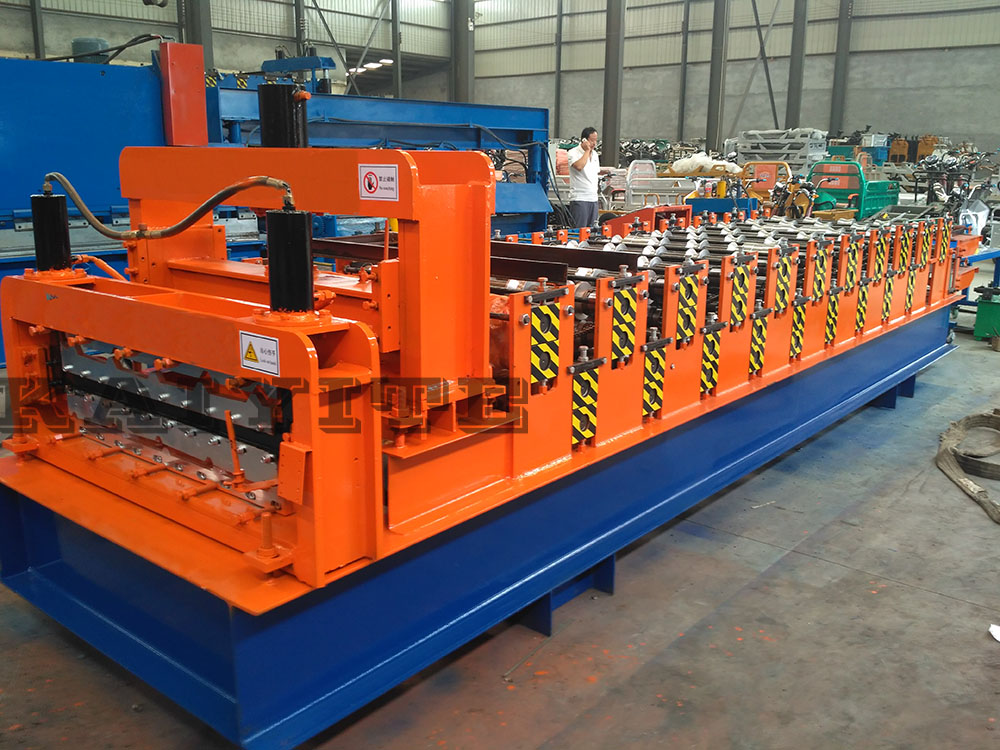 metal double deck making machinery