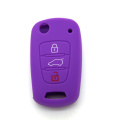 Kia 3 botões Car Key Cover Silicone
