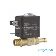 OEM for Europe Type Tube Connector Valve 2/2 way brass solenoid valve export to Cote D'Ivoire Manufacturer