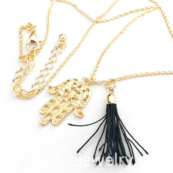 necklaces for women, pendant necklace, hand tassel necklace,