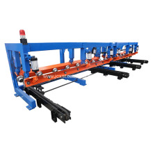 pneumatic stacker for roof roll forming machine auto