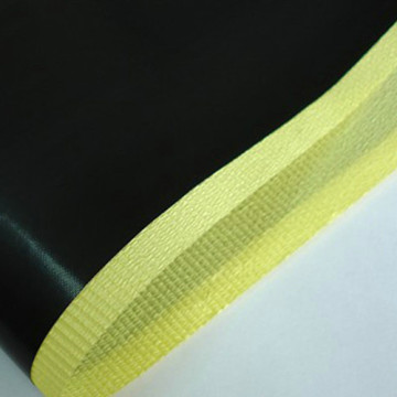 0.16mm Black PTFE  Adhesive Tapes With Liner