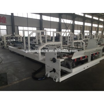 Carton box making automatic folder gluer machine