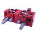 concrete sprayer sectional valves
