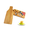 Wine bottle wood cheese tool